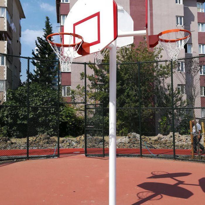 Üç Yönlü Basketbol Potaları